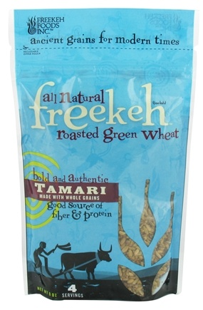 DROPPED: Freekeh Foods - Roasted Green Wheat Ancient Grains Tamari - 8 oz.