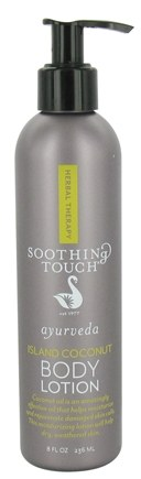 DROPPED: Soothing Touch - Ayurveda Body Lotion Island Coconut - 8 oz.