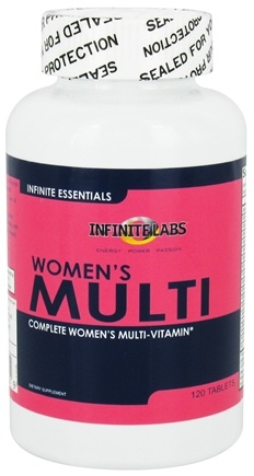 DROPPED: Infinite Labs - Infinite Essentials Women's Multi - 120 Tablets