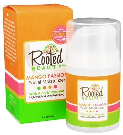DROPPED: Rooted Beauty - Facial Moisturizer Mango Passion - 1.7 oz.