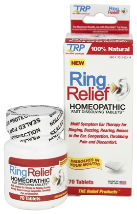 DROPPED: TRP Company - Ring Relief - 70 Tablets