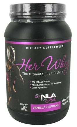 NLA for Her - Her Whey Ultimate Lean Protein Vanilla Cupcake - 2 lbs.