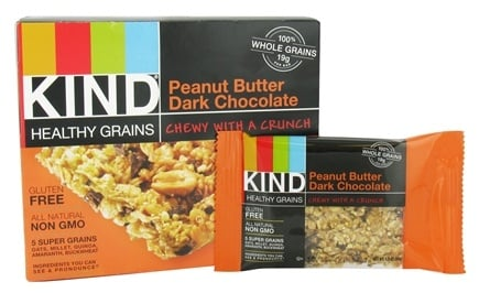 Kind Bar - Healthy Grains Bars Peanut Butter Dark Chocolate - 5 Bars