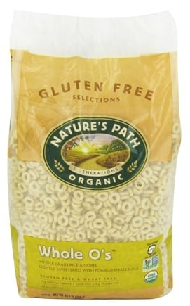 Nature's Path Organic - Gluten-Free Whole O's Cereal - 24.6 oz.