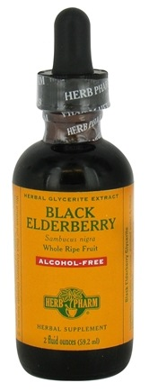 DROPPED: Herb Pharm - Black Elderberry Extract Alcohol-Free - 2 oz.