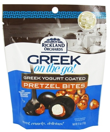 Zoom View - Greek On The Go Pretzel Bites with Greek Yogurt Coating
