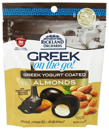 Zoom View - Greek On The Go Whole Almonds with Greek Yogurt Coating