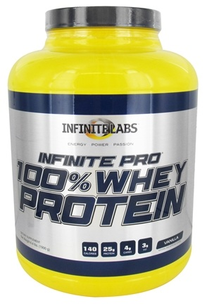 DROPPED: Infinite Labs - Infinite Pro 100% Whey Protein Vanilla - 4.4 lbs.