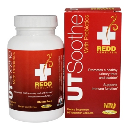 DROPPED: Redd Remedies - UT Soothe with Probiotics - 60 Vegetarian Capsules