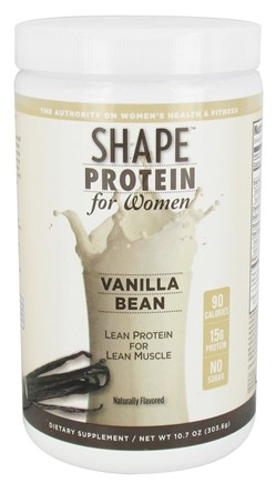 DROPPED: Shape Nutritional - Protein For Women Vanilla Bean - 10.7 oz.