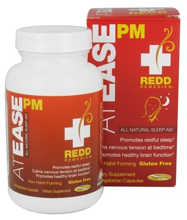Redd Remedies - At Ease PM - 30 Vegetarian Capsules