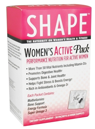 DROPPED: Shape Nutritional - Women's Active Pack - 28 Packet(s)