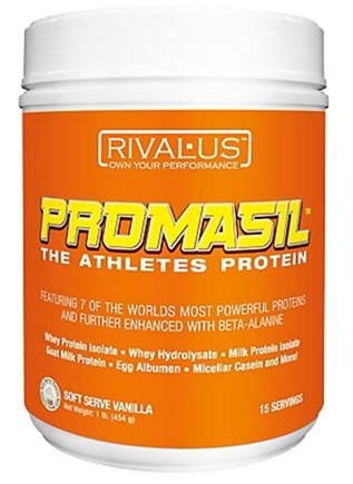 DROPPED: Rivalus - Promasil The Athletes Protein Soft Serve Vanilla - 1 lb.