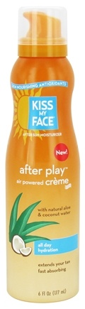 Kiss My Face - After Play Air Powered Moisturizer Creme - 6 oz.