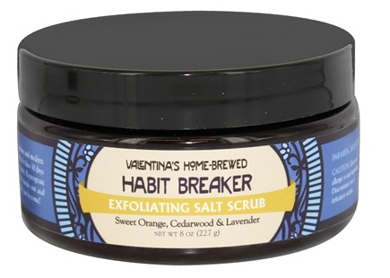 DROPPED: Valentina's Home Brewed - Exfoliating Salt Scrub Habit Breaker - 8 oz.