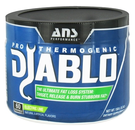 DROPPED: ANS Performance - Diablo Pro-Thermogenic Electric Lime - 150 Grams CLEARANCE PRICED