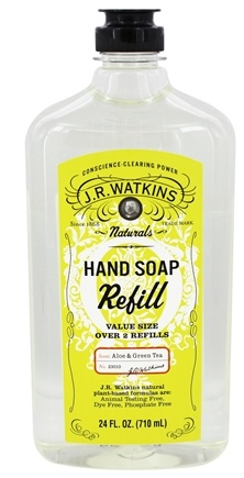 JR Watkins - Natural Home Care Hand Soap Refill Aloe & Green Tea - 24 oz.