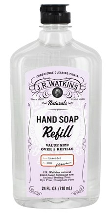 JR Watkins - Natural Home Care Hand Soap Refill Lavender - 24 oz.