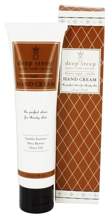 DROPPED: Deep Steep - Hand Cream Brown Sugar-Vanilla - 2 oz.