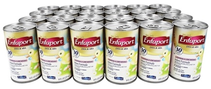 DROPPED: Enfamil - Enfaport DHA & ARA Infant Formula 0-12 Months - 24 x 8 oz. Cans