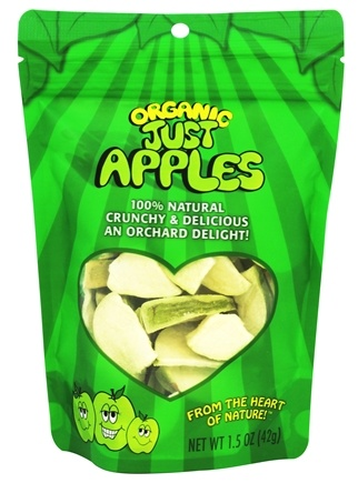 DROPPED: Just Tomatoes, Etc! - Organic Just Apples - 1.5 oz.