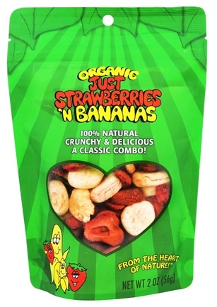 DROPPED: Just Tomatoes, Etc! - Organic Just Strawberries 'N Bananas - 2 oz.