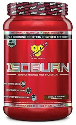DROPPED: BSN - IsoBurn Metabolic Activating Whey Isolate Blend Chocolate Milkshake - 1.32 lb.