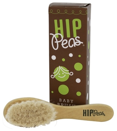 DROPPED: Hip Peas - Baby Brush Wooden Natural Kids Care