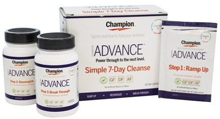 DROPPED: Champion Naturals - Advance Simple 7-Day Cleanse Kit - 3 Piece(s)