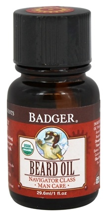 Badger - Man Care Beard Oil - 1 oz.