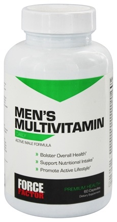 DROPPED: Force Factor - Men's Multivitamin Daily - 60 Tablets