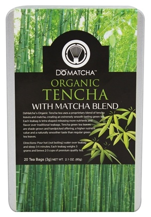 DROPPED: DoMatcha - Organic Tencha Tea with Matcha Blend - 20 Tea Bags