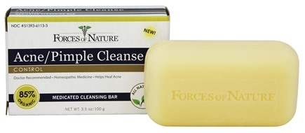 DROPPED: Forces of Nature - Acne/Pimple Cleanse Medicated Cleansing Bar - 3.5 oz.