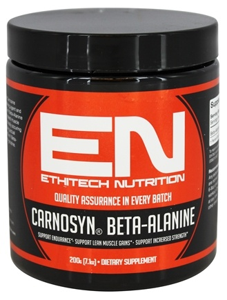DROPPED: EthiTech Nutrition - CarnoSyn Beta-Alanine - 200 Grams