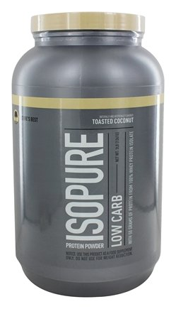 Nature's Best - Isopure Perfect Low Carb Toasted Coconut - 3 lbs.