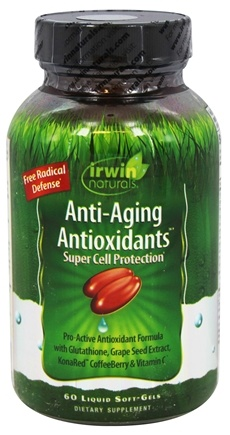 Irwin Naturals - Anti-Aging Antioxidants - 60 Softgels