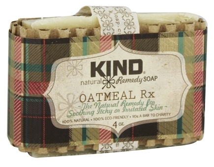 DROPPED: Kind Soap Co. - Natural Remedy Bar Soap Oatmeal Rx - 4 oz.