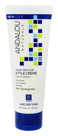 Andalou Naturals Argan Hair Styling Cream, Age Defying, 5.8 Oz 4 Pack - La Roche-Posay Toleriane Dermo- Cleanser Face Wash & Makeup Remover 6.76 oz