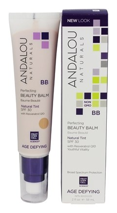Andalou Naturals - Perfecting BB Beauty Balm Natural Tint 30 SPF - 2 oz.