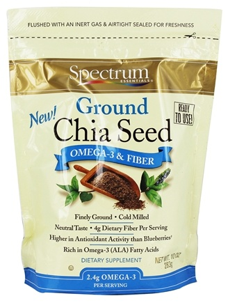 Spectrum Essentials - Ground Chia Seed - 10 oz.
