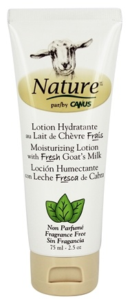 DROPPED: Canus - Nature Moisturizing Lotion Fragrance Free - 2.5 oz.