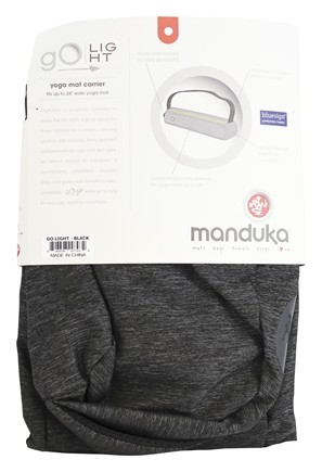 Buy Manduka Go Light Yoga Mat Carrier Black At