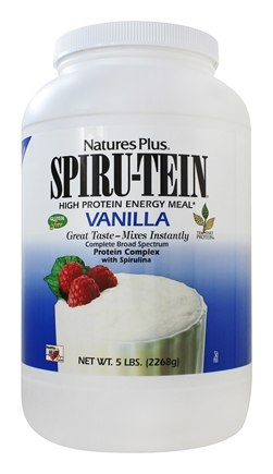 Nature's Plus - Spiru-Tein High Protein Energy Meal Vanilla - 5 lbs.