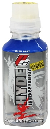 Dropped Pro Supps Mr Hyde Rtd Pre Workout Amplifier Blue Raspberry 10