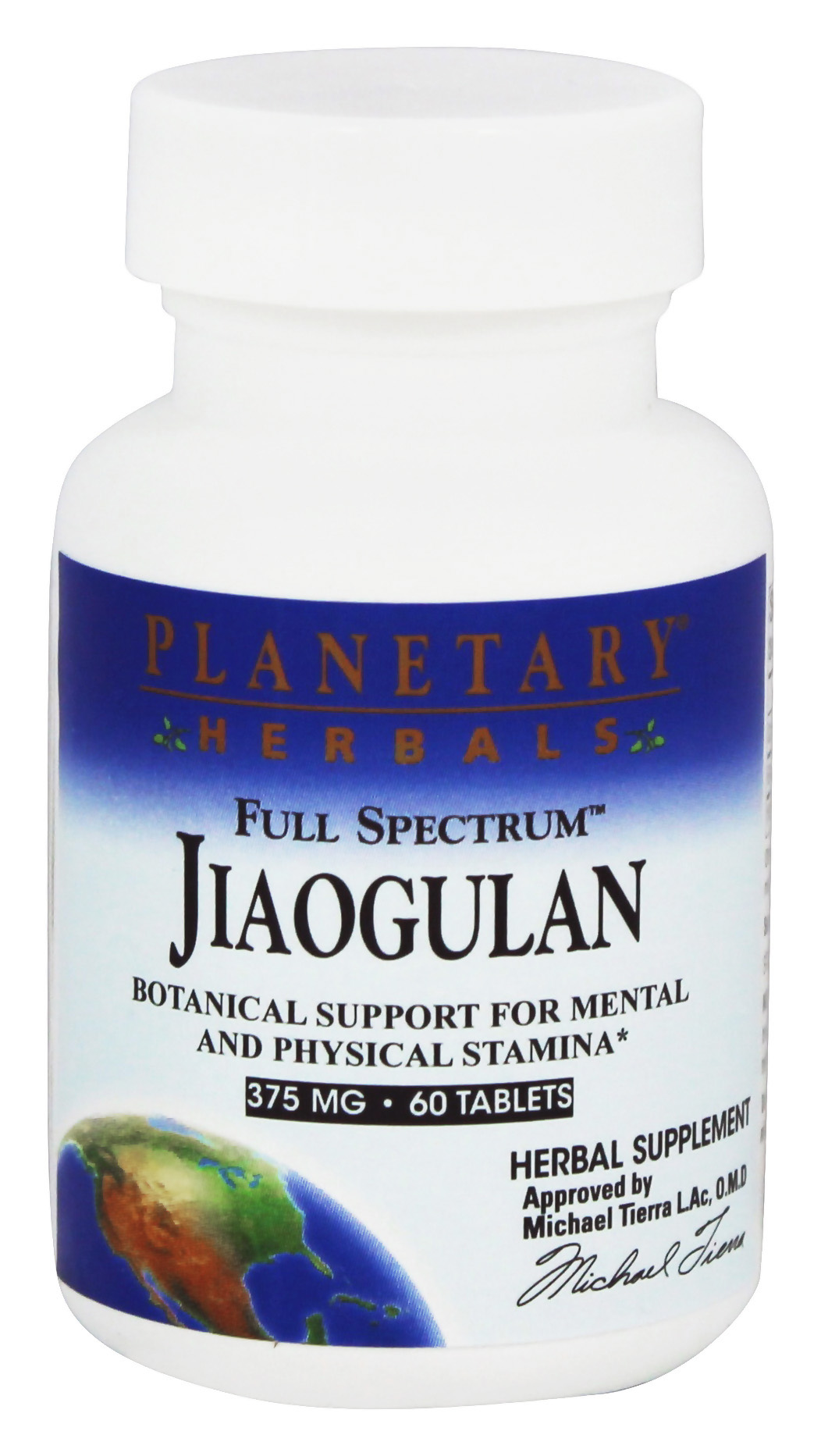 Planetary Herbals - Full Spectrum Jiaogulan 375 mg. - 60 Tablets