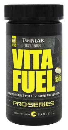 DROPPED: Twinlab - Pro-Series Vita Fuel - 120 Tablets
