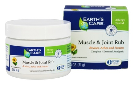 Earth's Care Muscle and Joint Rub