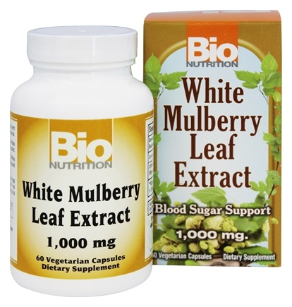 White Mulberry Leaf Extract 1000 mg