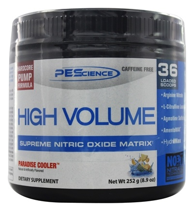 DROPPED: PEScience - High Volume Supreme Nitric Oxide Matrix Paradise Cooler 36 Scoops - 8.9 oz.