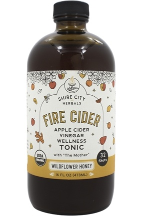 Fire Cider - Original Apple Cider Vinegar Tonic - 16 fl. oz.